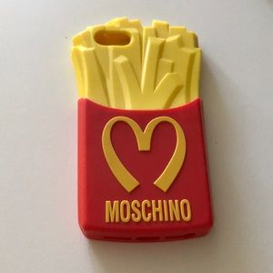 Authentic Moschino Fries iPhone 5s/SE Case